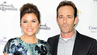 Tiffani Thiessen, Luke Perry Have Beverly Hills, 90210 Reunion: Picture