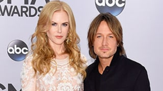 Nicole Kidman Dons Sheer Embroidered Dress, Poses With Keith Urban at the CMA Awards 2014 -- See Her Look Here!