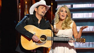 Carrie Underwood, Brad Paisley Rib Taylor Swift, Obama, Ebola at CMA Awards