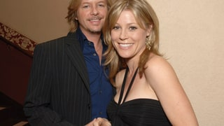 Julie Bowen and David Spade