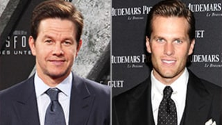 Mark Wahlberg Has a Crush on Tom Brady, Gushes Over His