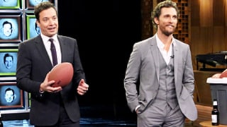 Matthew McConaughey Plays Wild Game of Facebreakers With Jimmy Fallon on The Tonight Show