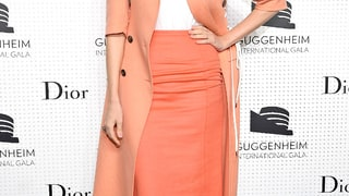 Leelee Sobieski: Guggenheim International Gala Dinner