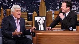 Jay Leno Mocks Jimmy Fallon on Tonight Show Return, Does Stand-Up