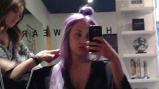 Amanda Bynes Dyes Her Hair Purple: See Her Twitter Photo