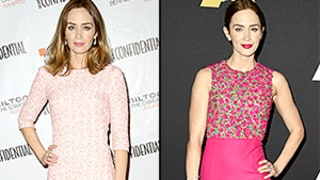 Emily Blunt Wears Two Pink Dresses in One Weekend: See Her Rock the Rosy Hue!