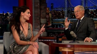 Katie Holmes Prepares to Cook First Ever Thanksgiving Turkey, Gets Tips from David Letterman