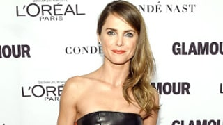 Keri Russell Looks Smokin' Hot in a Striped Leather Jumpsuit on the Red Carpet (Get It, Girl!)