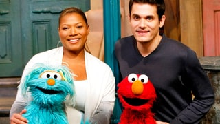 Queen Latifah and John Mayer