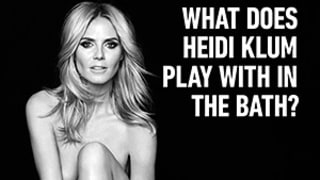 Heidi Klum Goes Completely Nude for New Sharper Image Campaign: Go Behind the Scenes of the Sexy Shoot!