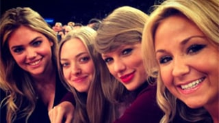 Taylor Swift Hangs With Girlfriends Amanda Seyfried, Kate Upton at NY Knicks Game: Photo