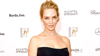 Uma Thurman's Sexy LBD Might Cause Your Jaw to Drop: Check Out the 44-Year-Old's Hot Look!