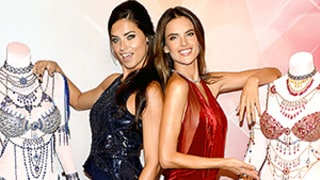 Adriana Lima, Alessandra Ambrosio Rock $2 Million Bras: See the Sexy Models in the Victoria's Secret Diamond Pieces