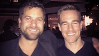 James Van Der Beek, Joshua Jackson Have an Epic Dawson's Creek Reunion: Picture
