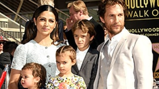 Matthew McConaughey Sports a Scruffy Beard, Looks Handsome With Camila Alves, Family