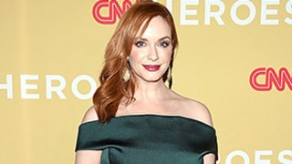 Christina Hendricks' Curves Are Out of Control in the Best Way in Off-the-Shoulder Green Dress