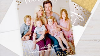 Tori Spelling Debuts Holiday Card: See Her Pajama Party With Dean McDermott, Kids