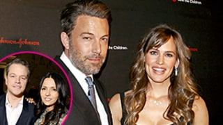 Ben Affleck, Jennifer Garner Spending Thanksgiving With Matt Damon's Family
