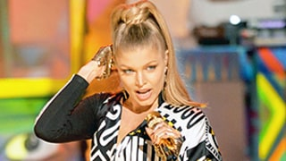 Fergie Suffers Wardrobe Malfunction During 2014 AMAs
