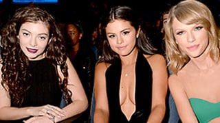 Selena Gomez, Lorde End Their Feud to Support Taylor Swift at 2014 AMAs: Pictures!