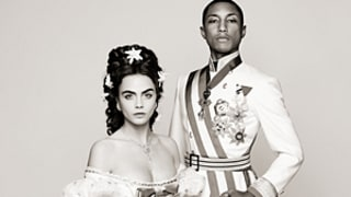 Pharrell Williams, Cara Delevingne Channel a Prince and Princess for Chanel Short Film: See the Glam Clip!