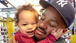 Donald Faison Snuggles With Look-Alike Son Rocco, 15 Months: Sweet Photo