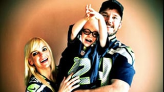 Chris Pratt, Anna Faris Cheer on Seattle Seahawks With Son Jack: Adorable Picture
