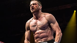 Jake Gyllenhaal Looks Unrecognizable as Boxer Billy Hope in Upcoming Flick Southpaw -- See His Insanely Buff Bod