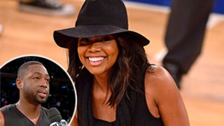 Gabrielle Union Videobombs Dwyane Wade in Hilarious Interview: Watch