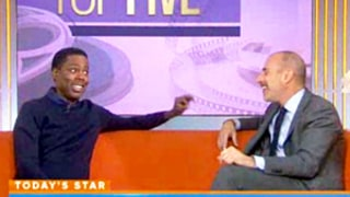 Chris Rock Teases Matt Lauer on Today: You'll Get Sick Next Like Robin Roberts
