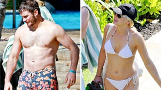 Chris Pratt and Anna Faris Are in Really, Really Good Shape -- See Their Hawaii Beach Bods!