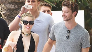 Miley Cyrus, Patrick Schwarzenegger Hit the Pool After Partying in Miami Until 6 AM -- See the Pic!