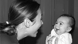 Stacy Keibler Debuts Daughter Ava Grace -- See the Adorable Mother-Daughter Moment and Ava's First Picture!