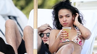 Robert Pattinson, FKA Twigs Pack on the PDA in Miami -- See Their Sexy Beach Bods!