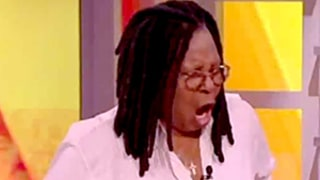 Whoopi Goldberg Farts During The View While Ashanti Rants About the Flu Shot -- Watch Her Blame Breakfast Burritos Here!