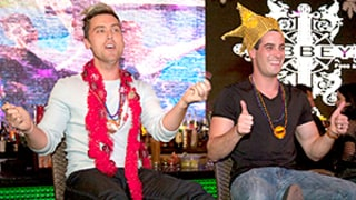 Lance Bass, Fiance Michael Turchin Celebrate Mardi Gras-Themed Bachelor Party -- See the Wild Pics and Get All the Inside Details!
