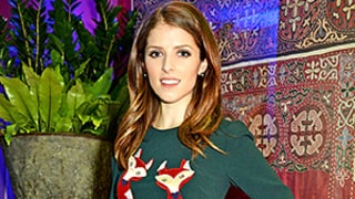 Anna Kendrick Gets Festive in a Not-So-Ugly Christmas Sweater Look: See Her Holiday-Inspired Dress
