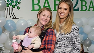 Drew Barrymore, Jessica Alba Show Off Their Kids at Charity Event: Pictures