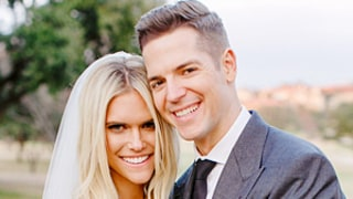 Jason Kennedy, Lauren Scruggs Make the Perfect Couple in Official Wedding Photo -- See Her Dress in This Stunning Pic