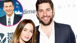 Emily Blunt, John Krasinski Prank Jimmy Kimmel in a Huge Way: Watch