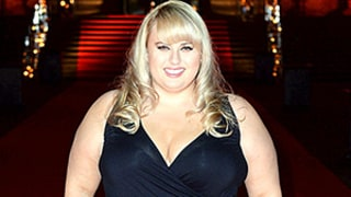 Rebel Wilson Masters Plus-Size Red Carpet Glam, Dazzles in Sparkly $66 Dress