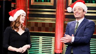 Amy Adams Endearingly Fails at Holiday Flip Cup With Jimmy Fallon: Watch!