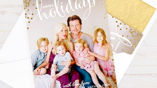 Tori Spelling, Dean McDermott, and Kids, 2014