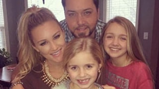 Jason Aldean, Fiancee Brittany Kerr Spend Christmas Eve with His Daughters: Picture