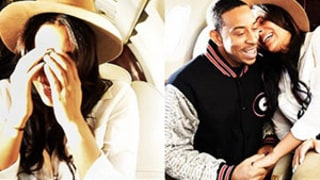 Ludacris Engaged to Girlfriend Eudoxie: See the Airplane Proposal Photo