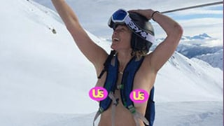 Chelsea Handler Goes Topless While Standing on Snowy Mountain: Instagram Photo