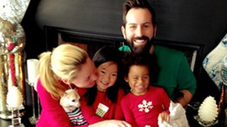 Katherine Heigl Celebrates Christmas With Her Husband and Daughters in Matching Pajamas: Pictures