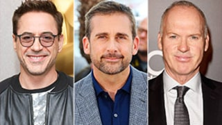 Robert Downey Jr., Steve Carell, Michael Keaton Reveal Advice They'd Give to Their Younger Selves