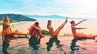 Alessandra Ambrosio and Friends Spell Out