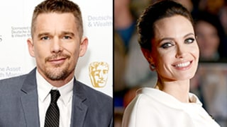Ethan Hawke Is on Angelina Jolie's Christmas Card List